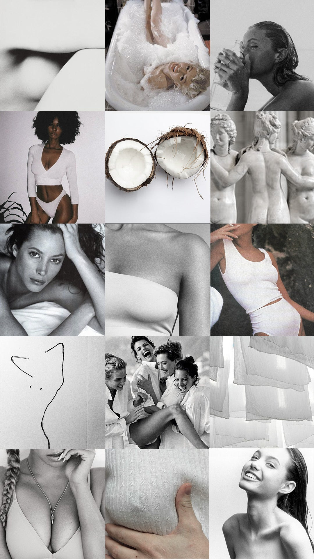 Moodboard for White
