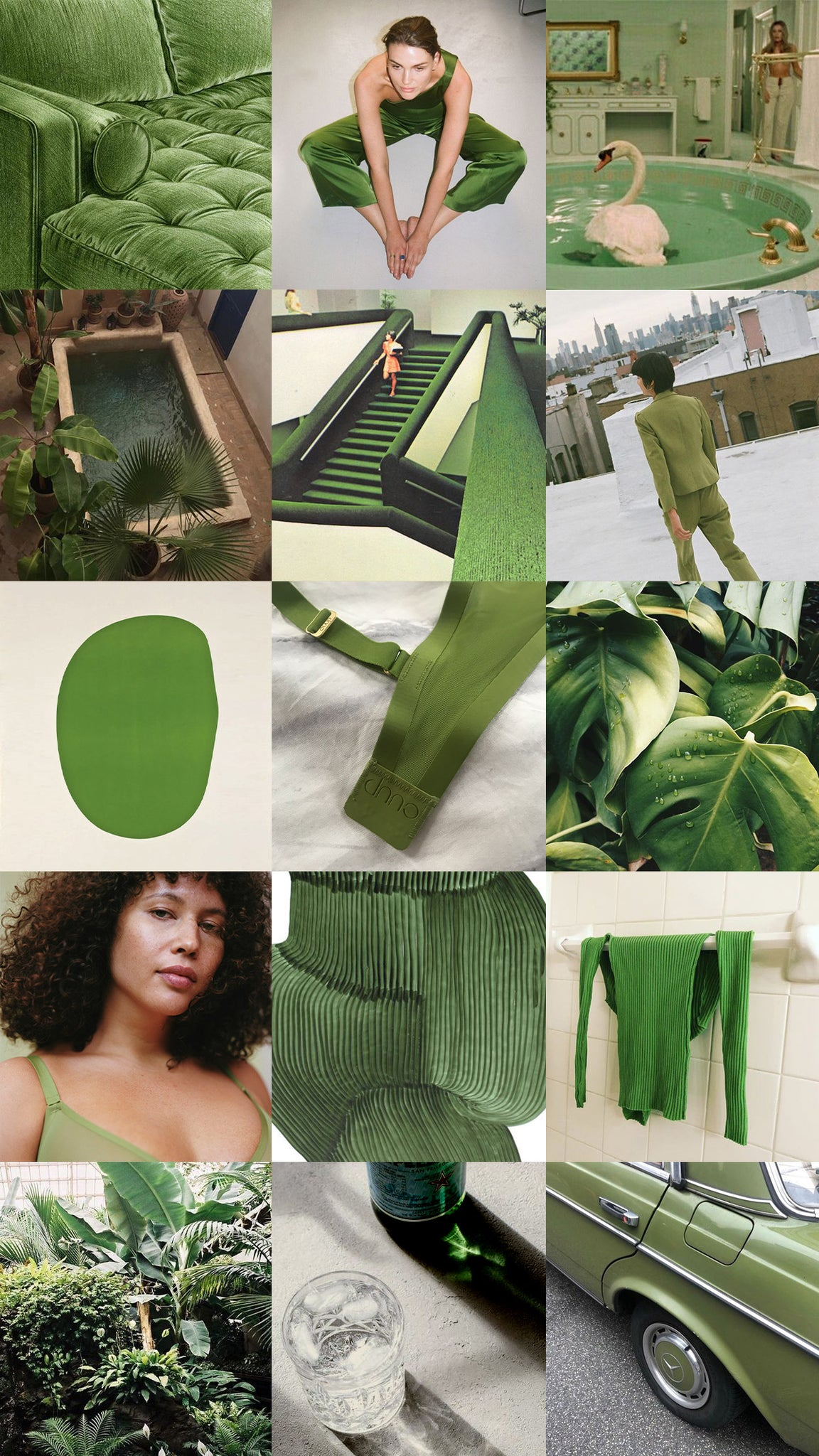 Moodboard for Grass
