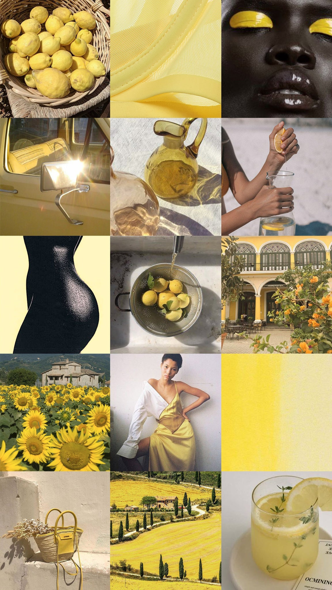 Moodboard for Citrine