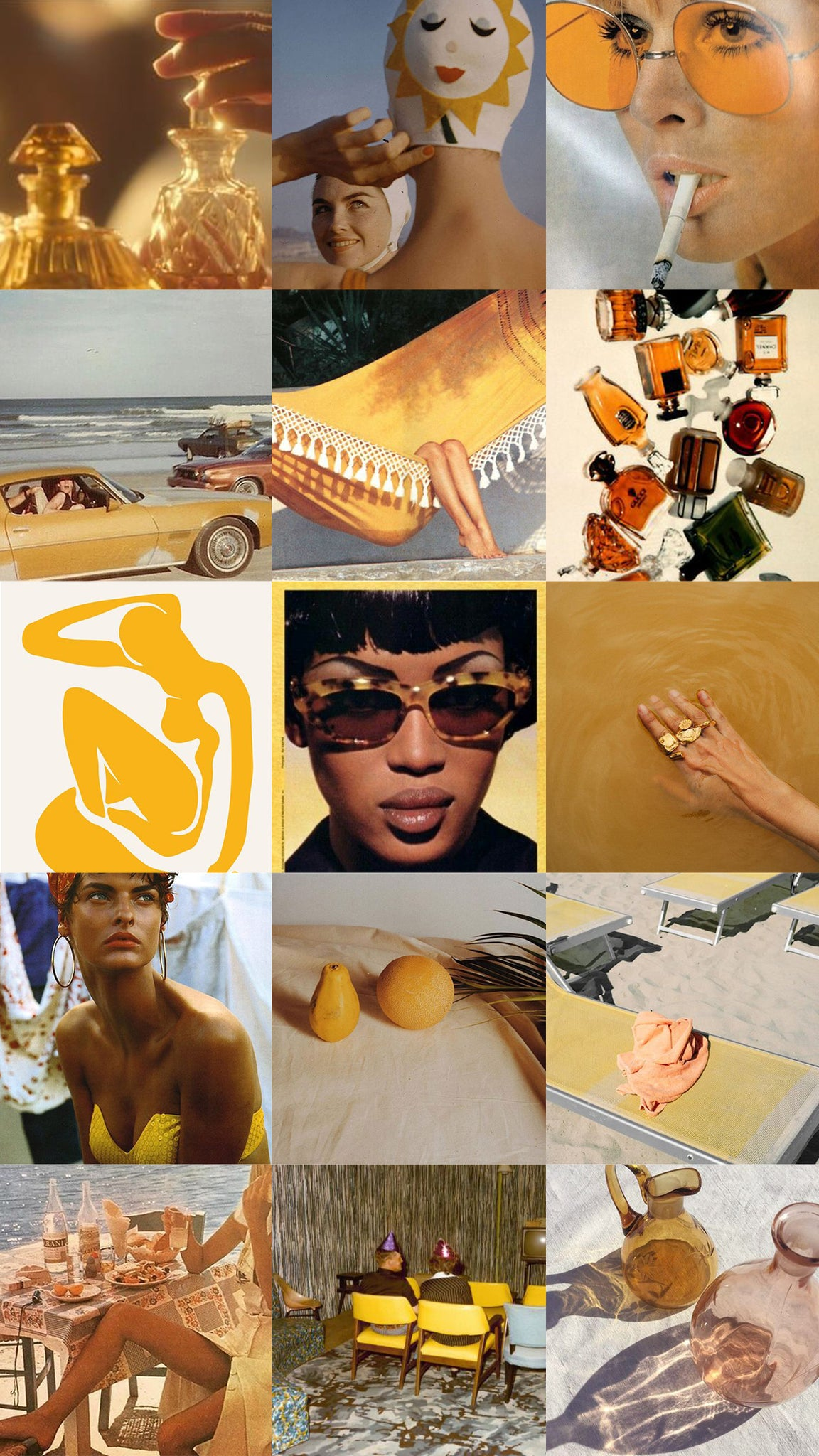 Moodboard for Ochre