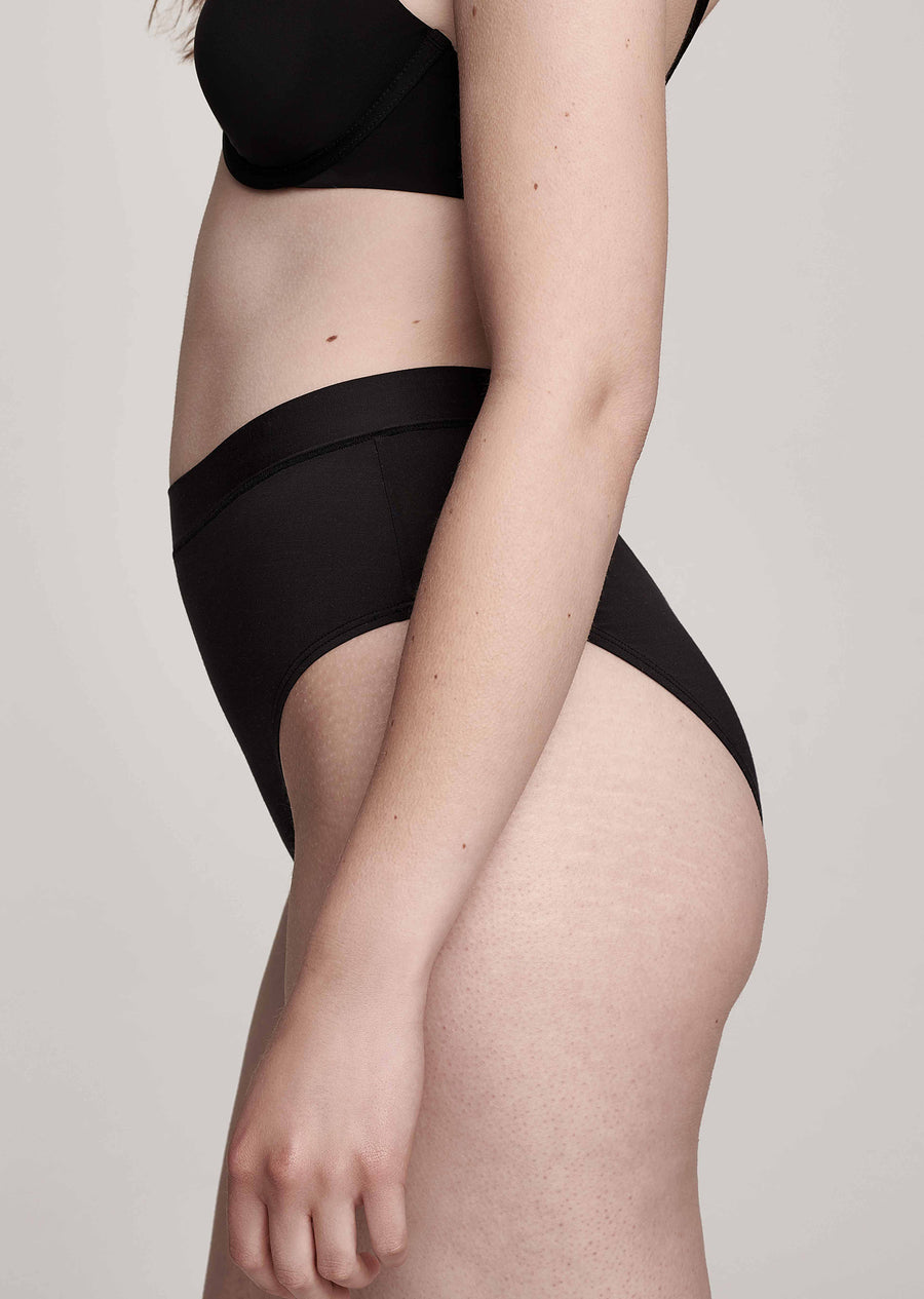The Highwaist - Modal, Black