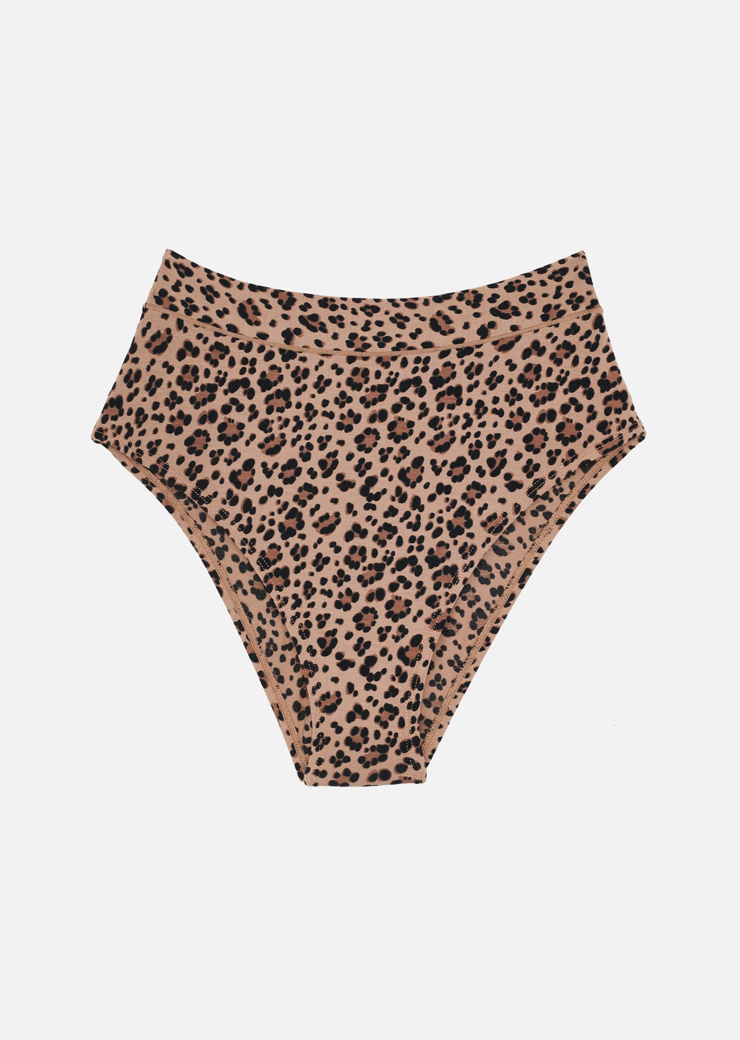 The Highwaist - Modal, Leopard