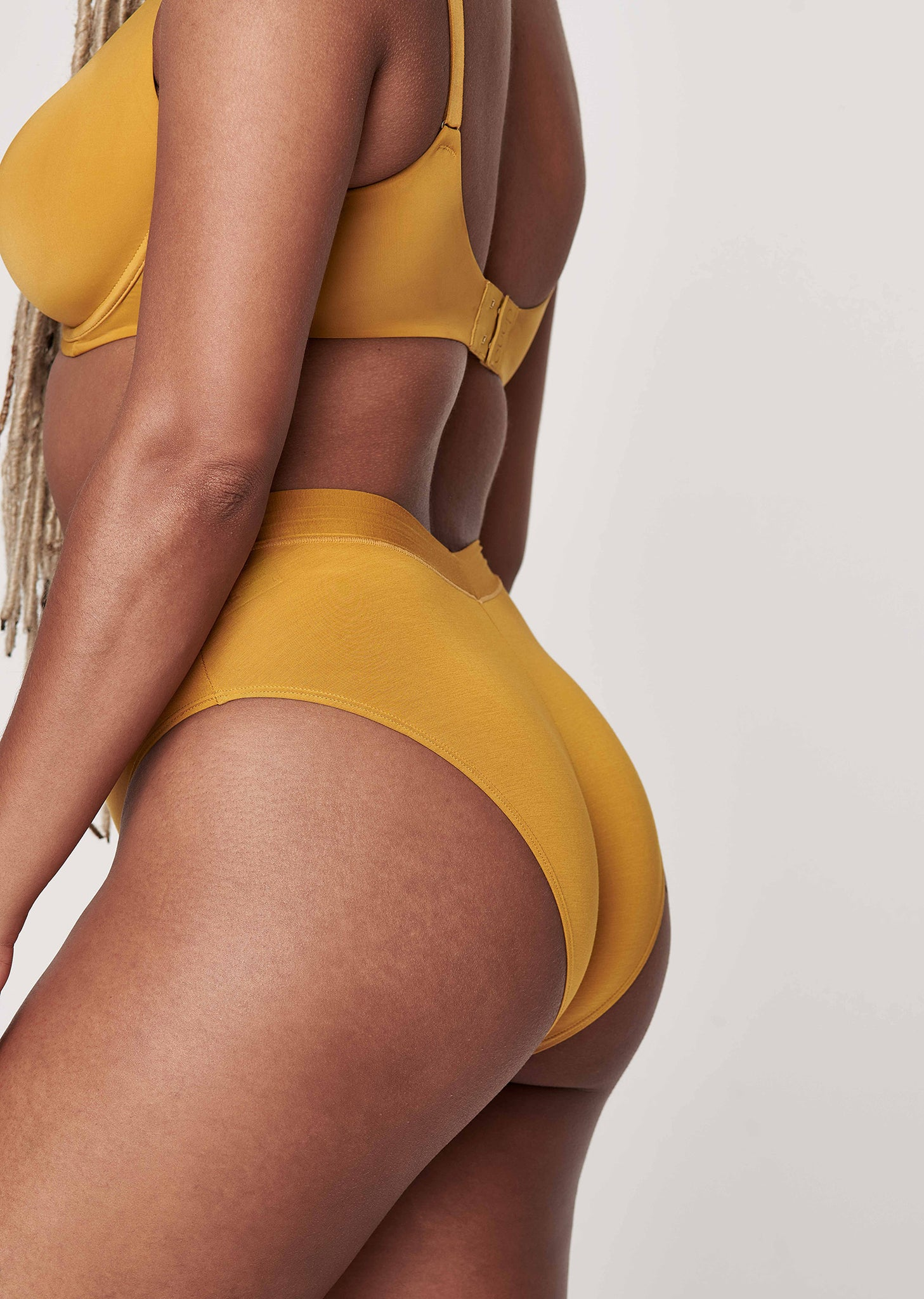 The Highwaist - Ochre - Underwear - CUUP