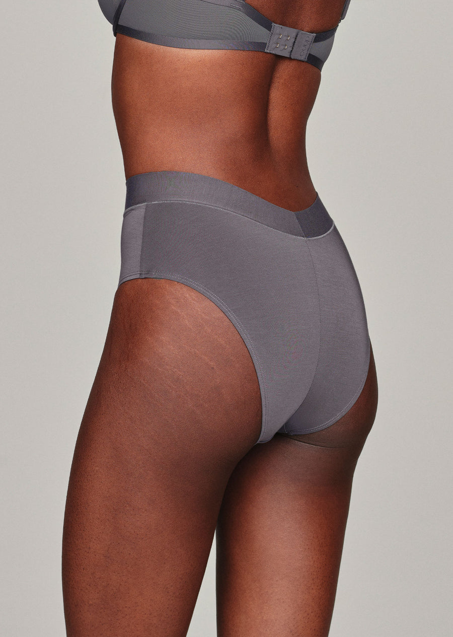 The Highwaist - Modal, Slate