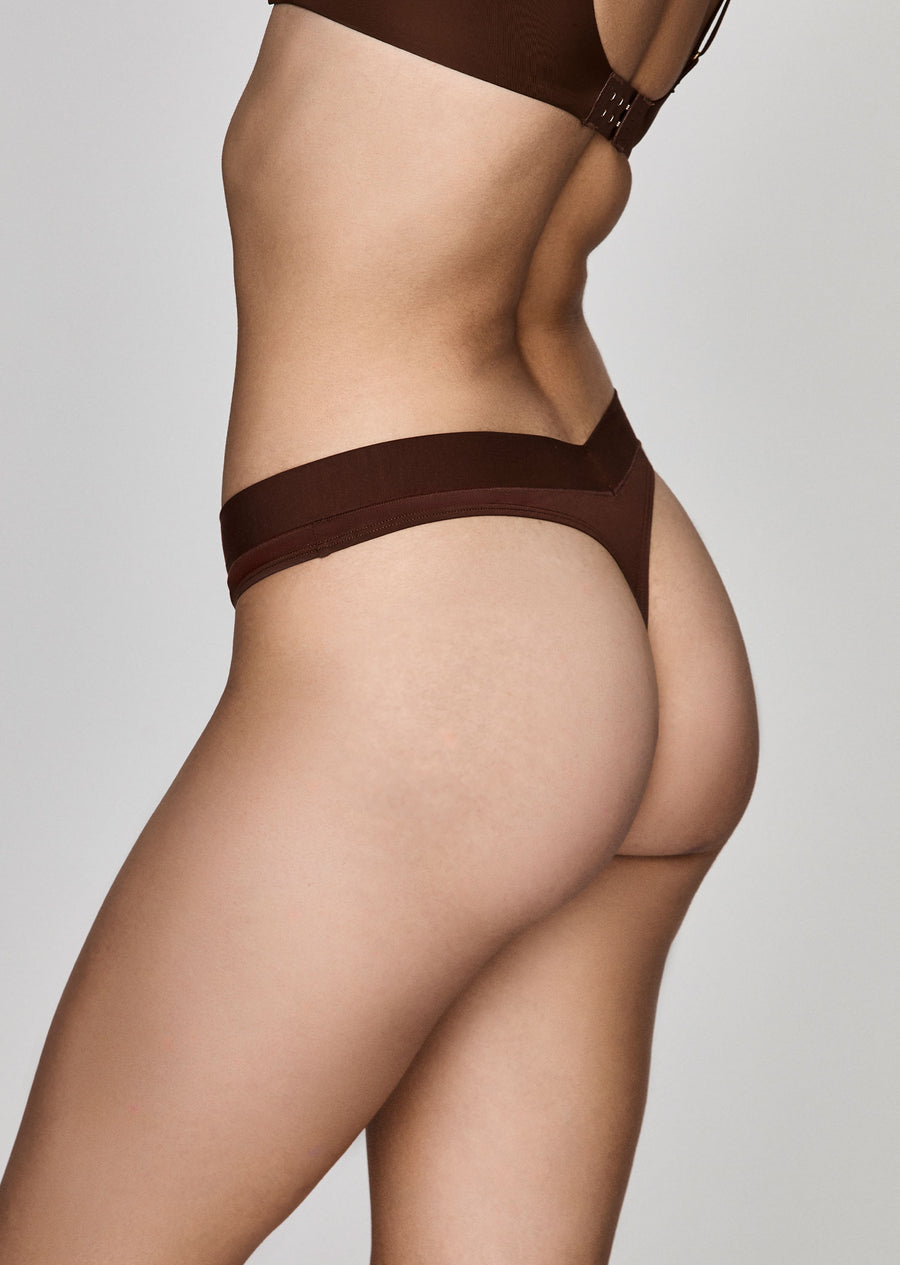 The Thong in Espresso - CUUP