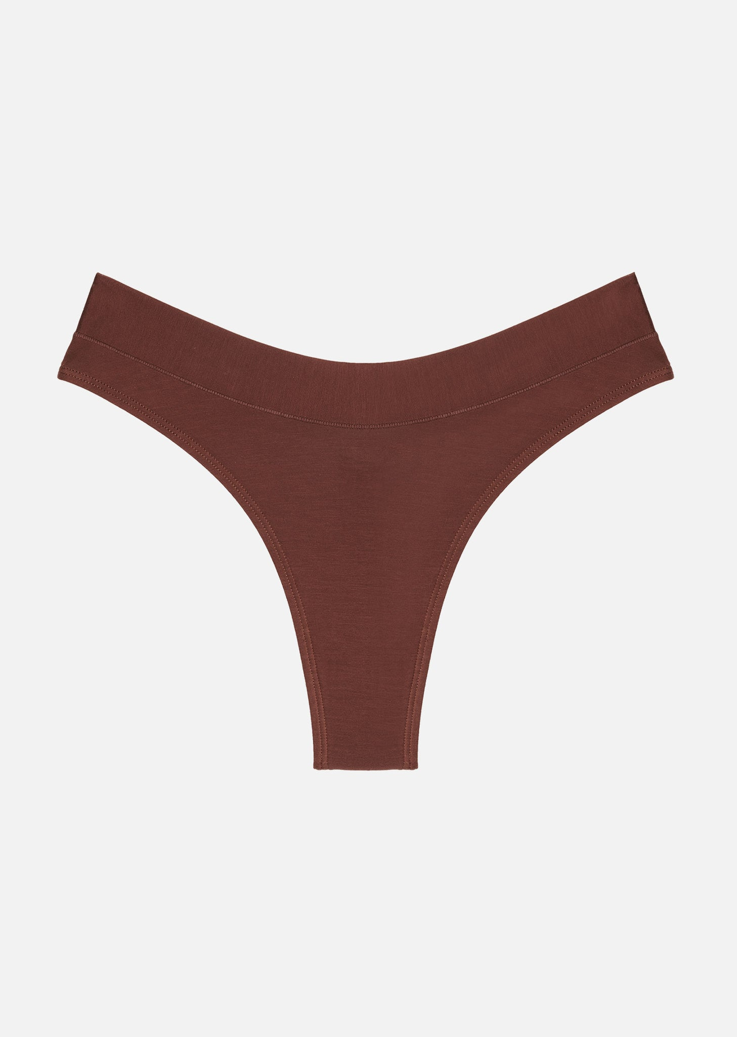 The Thong - Modal, Espresso