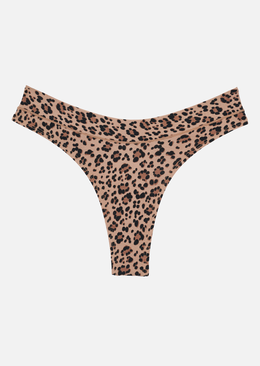 The Thong - Modal, Leopard