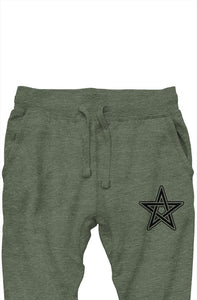 Prem. Joggers (military green heather)