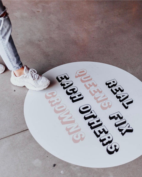 Circle Floor Decal - 3'