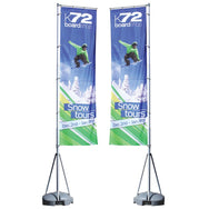 Rectangle Flagpole Banner