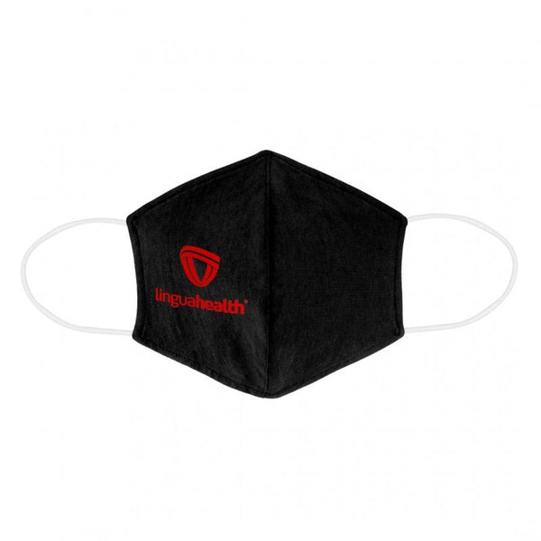 Form Fitted Cupped Cotton Face Mask with Pocket for Filter Insert
