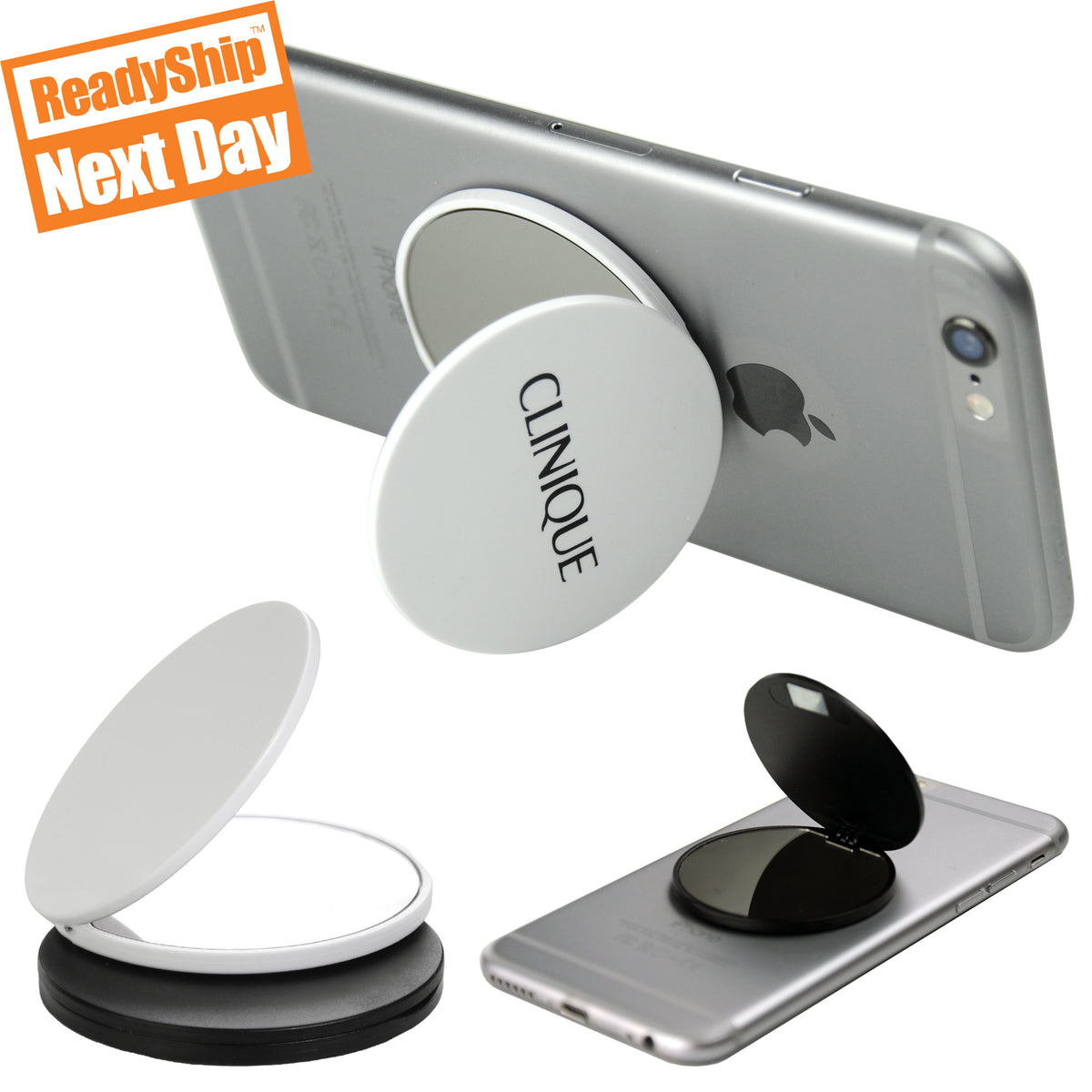 Mirror Phone Grip, Plastic