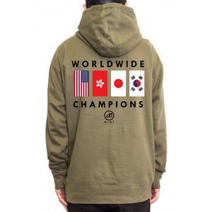 Flags Champion Pullover Hoodie