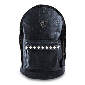 Crocodile Studded Backpack 43cm