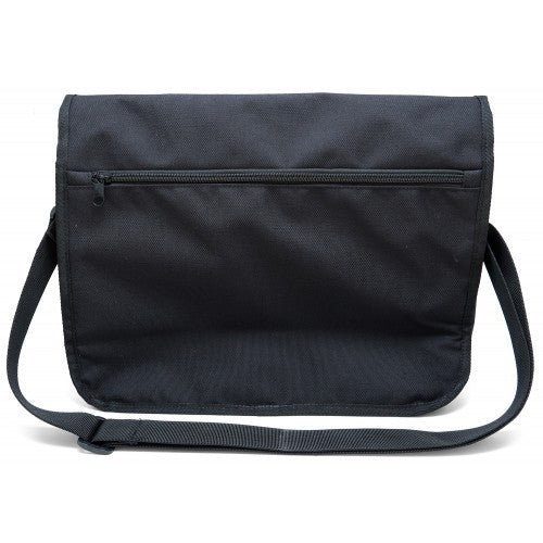 Patchwork Nylon Messenger Bag