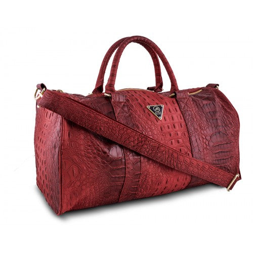 Crocodile Duffle Bag Large