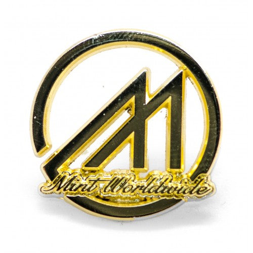 MINT LOGO GOLD PIN