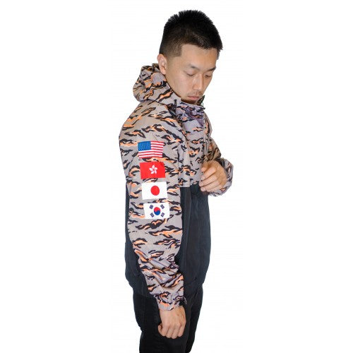 Siberian Tiger Camo Windbreaker