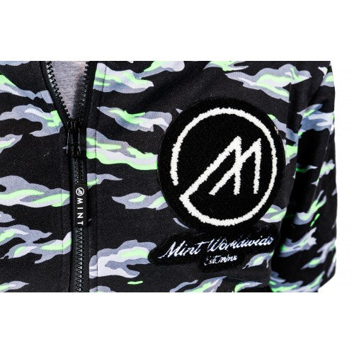 Tech Anorak * NEON TIGER CAMO *