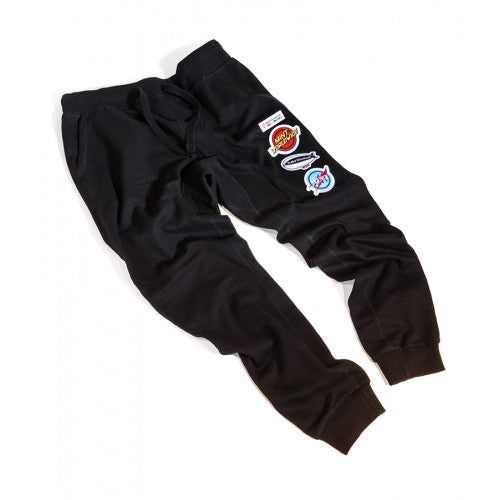 Patchwork Sweat Pant