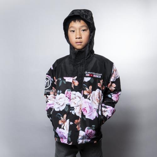 Kids Floral Windbreaker