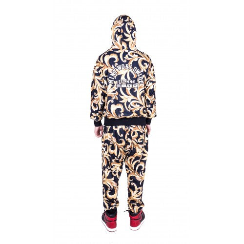 Royal Camo Track Suit