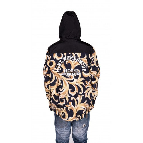 Royal Camo Windbreaker