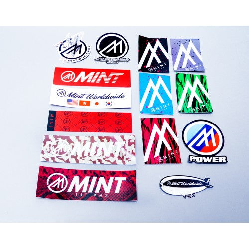 Mint Sticker Slap Pack