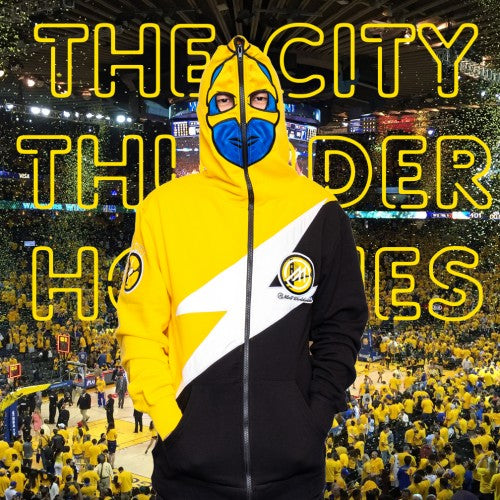 "The City "" Thunder "" Hoodie  * Black *"