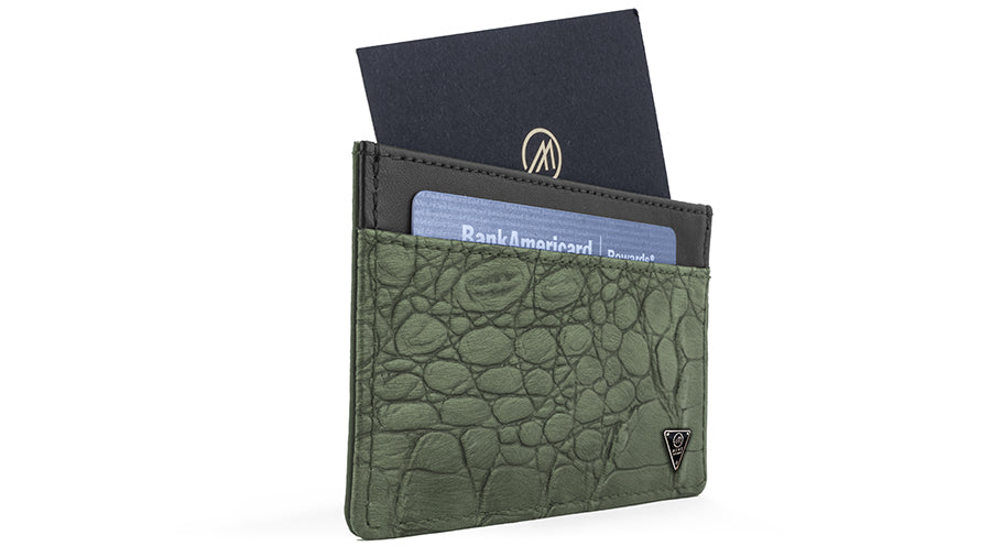 CAMO NYLON ULTRA SLIM WALLET
