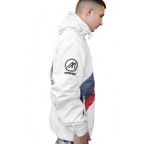 3M Reflective White Motorsport Windbreaker