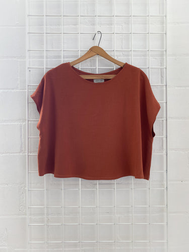 BREEZY CROP (Terracotta)