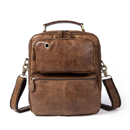 Brown Shoulder Bag for Men