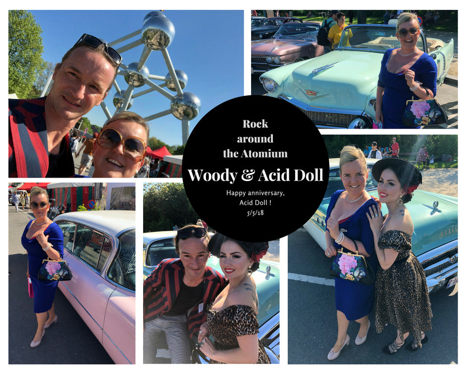 Rock Around the Atomium // Birthday picknick // Acid Doll