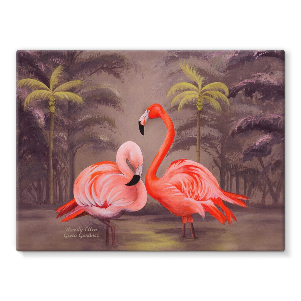 Flamingo design Canvas
