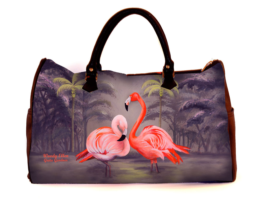 Travel bag, Flamingo, weekend bag