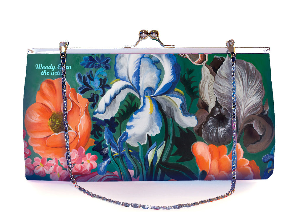 Retro clutch large, Forest