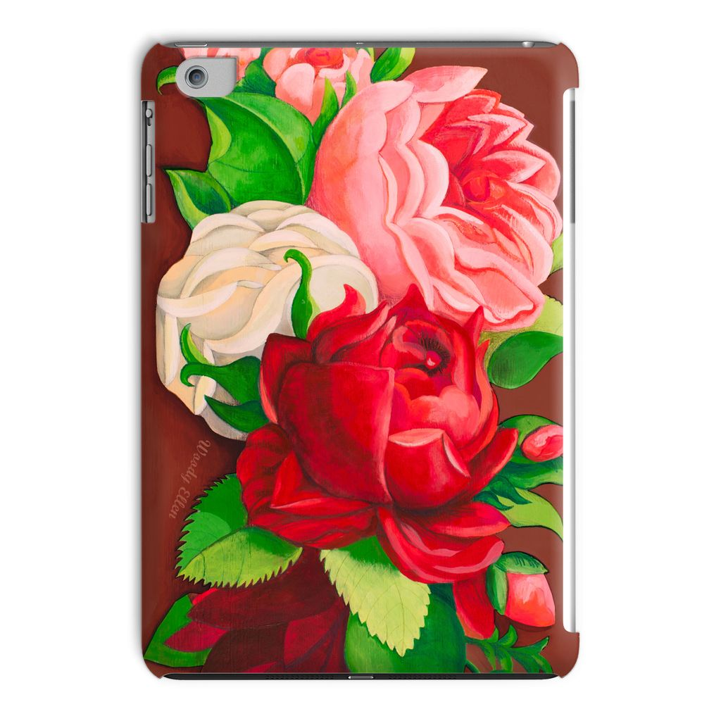 Red Paris Design Tablet Case