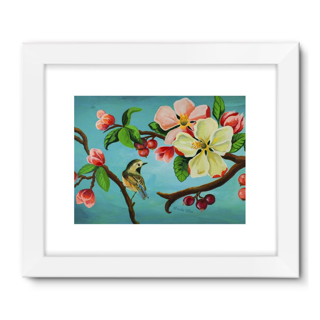 Blossom design Framed Fine Art Print
