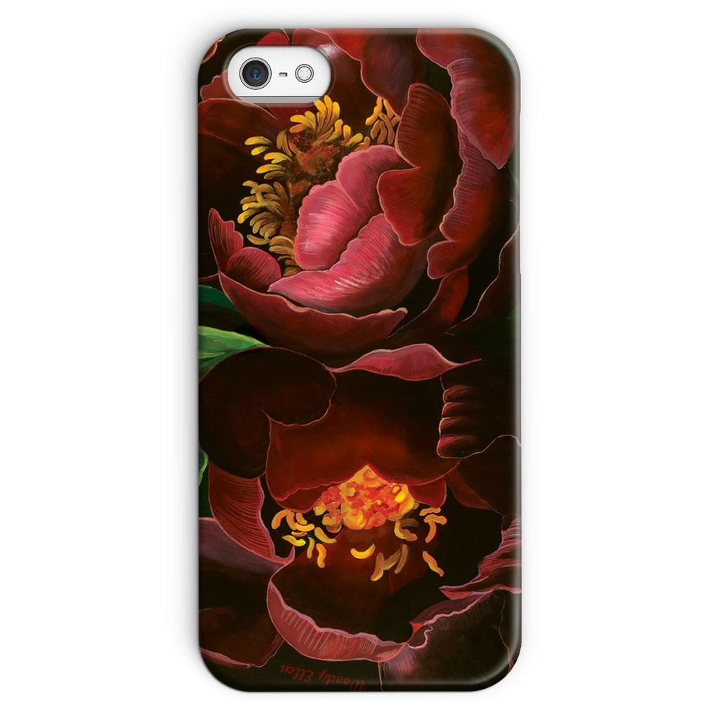 Night Bloom design Phone Case