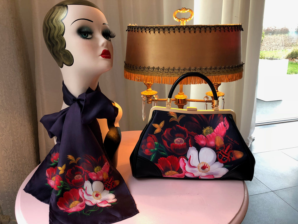 Handbag + Silk Scarf Glorious