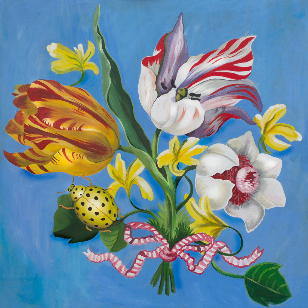 Retro pencil bag, Ladybug