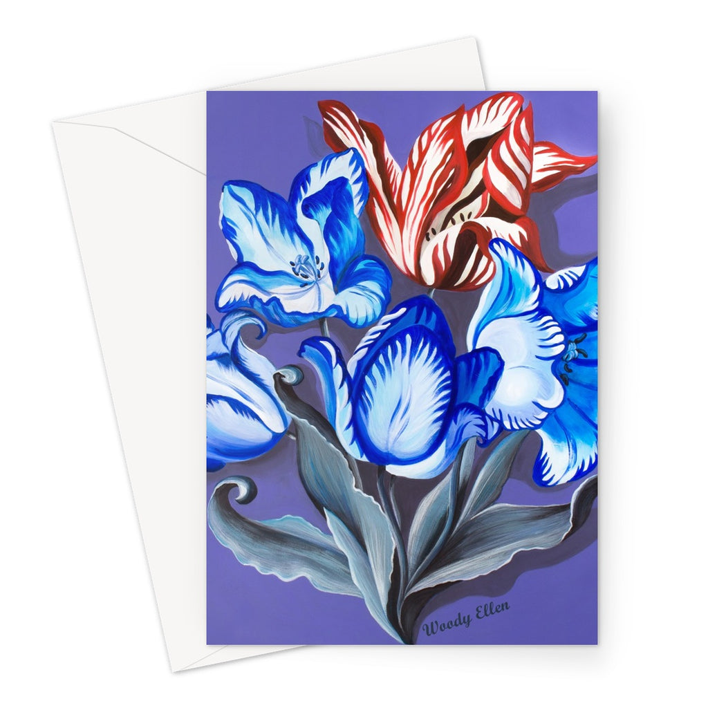 Porcelain Design Greeting Card