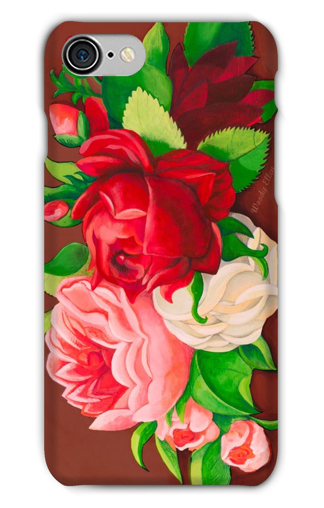 Red Paris Design Phone Case