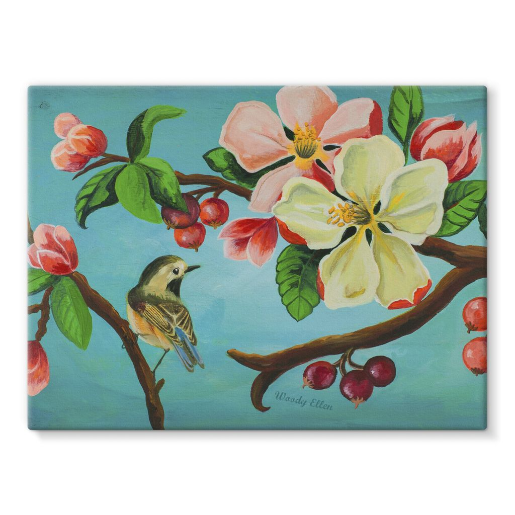 Blossom design Stretched Canvas