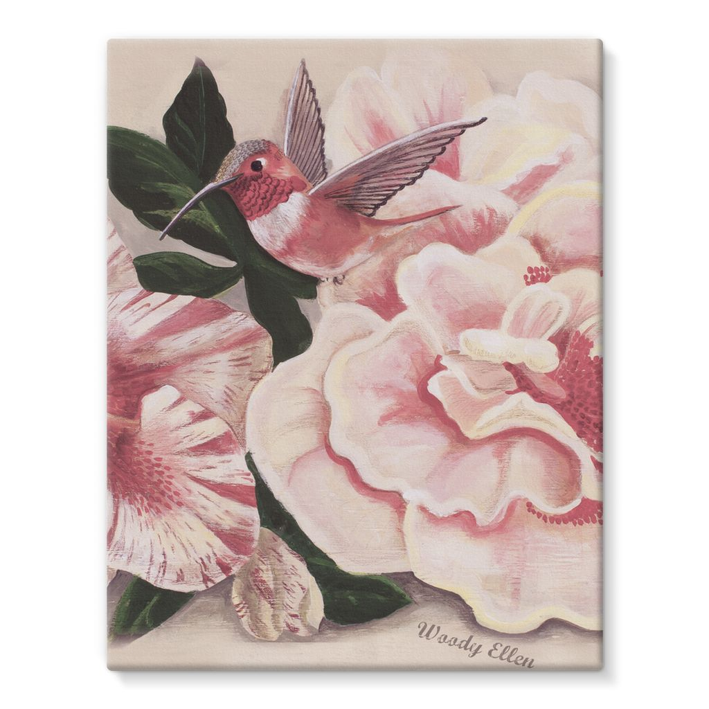 Honeybird design Stretched Eco-Canvas