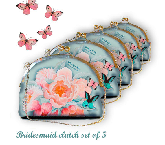 Bridesmaid clutch 5, Idda