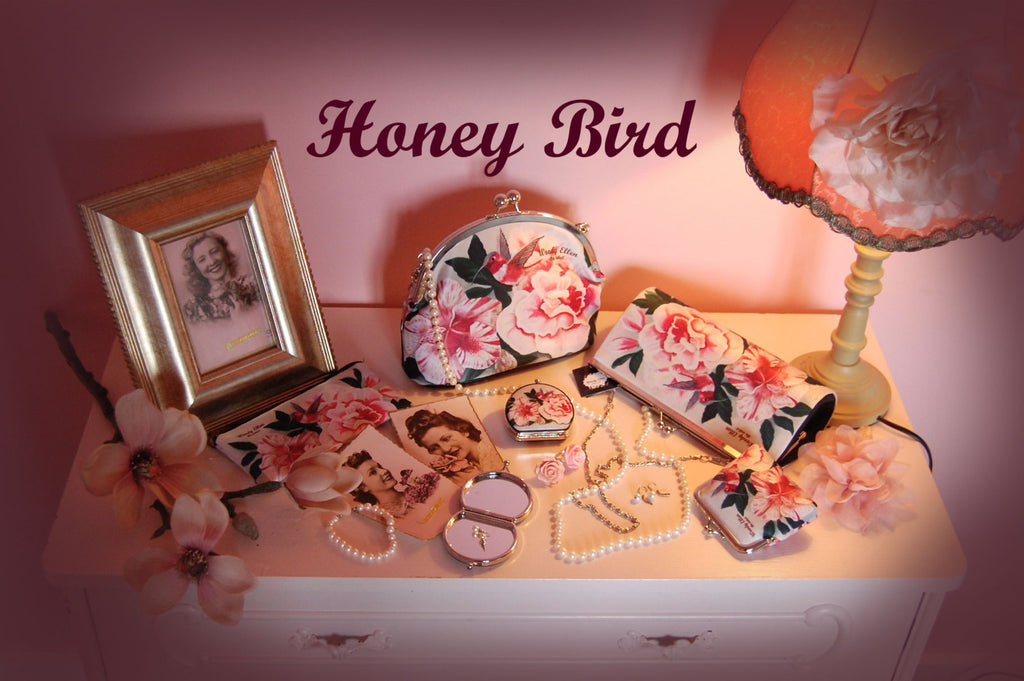 retro handbag set, vintage handbag set,Honey bird,christmas,gifts,gifts for her,Woody Ellen handbag,christmas gifts,christmas gift ideas