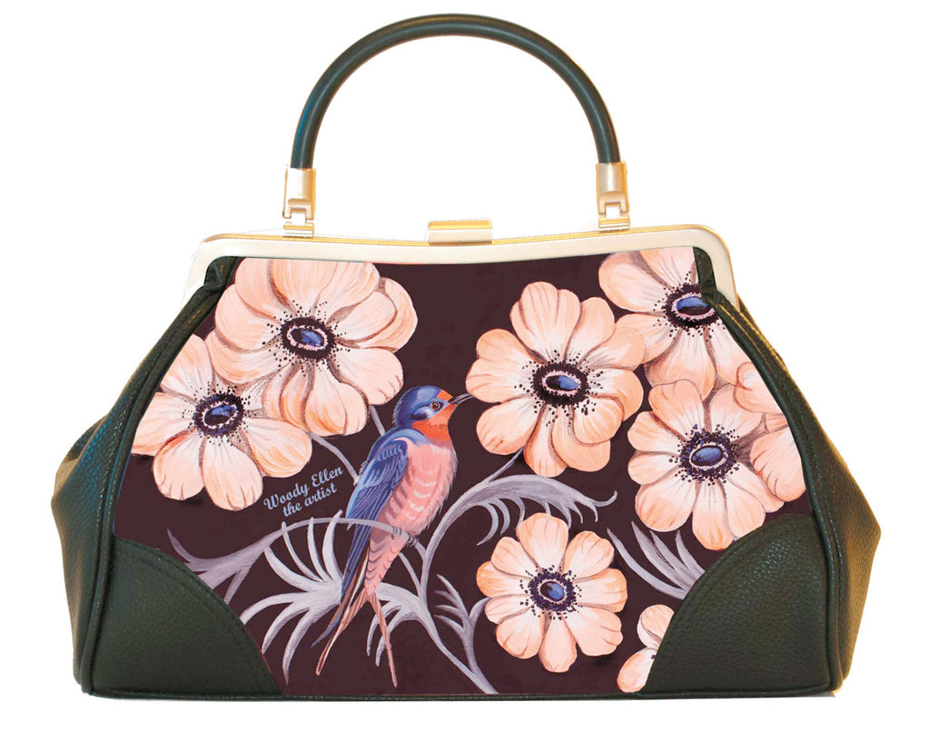 Retro handbag, Vintage handbag,Sweet Swallow,christmas,gift,gifts for her,gifts for mom,Woody Ellen bag,christmas gifts,christmas gift ideas