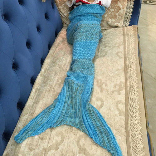Handmade Crochet Mermaid